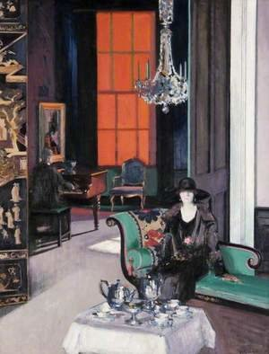 Interior - The Orange Blind, c.1928