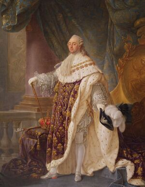 Famous paintings of Men: Louis XVI (1754-93)