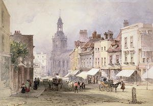 Famous paintings of Villages: No.2351 Chester c.1853