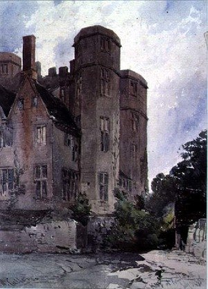 Famous Paintings in Victoria and Albert Museum, London, England: The Keep at Kenilworth