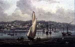 Famous paintings of Villages: Ryde, Isle of Wight