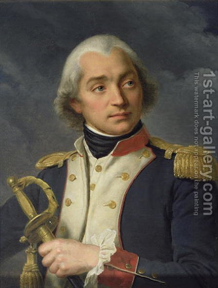 General Charles Pichegru (1761-1804) by Alexandre-Francois Caminade - Reproduction Oil Painting