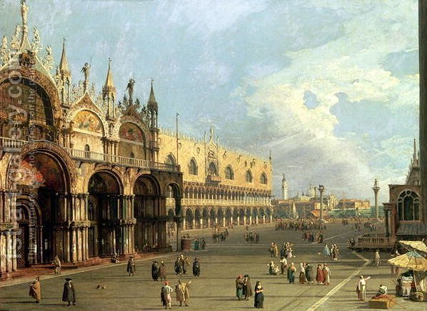 Huge version of St.Mark's Square, Venice