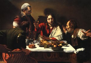 Reproduction oil paintings - Caravaggio - The Supper at Emmaus, 1601