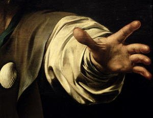 Reproduction oil paintings - Caravaggio - The Supper at Emmaus, 1601 (detail)