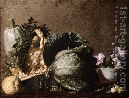 Still Life by Caravaggio - Reproduction Oil Painting