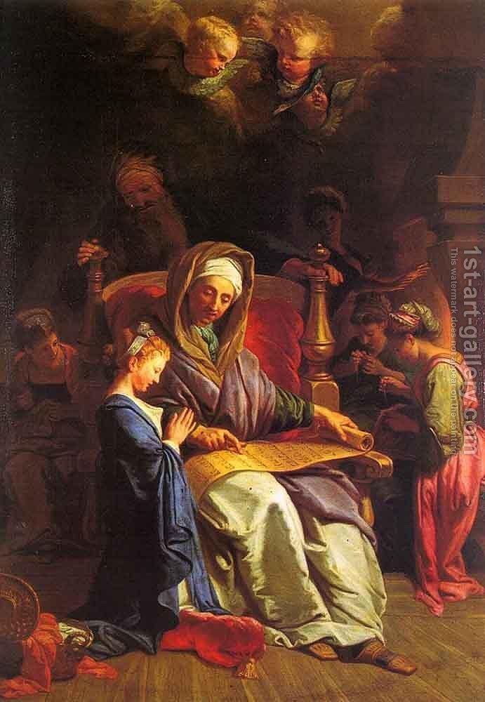 Huge version of The Education of the Virgin