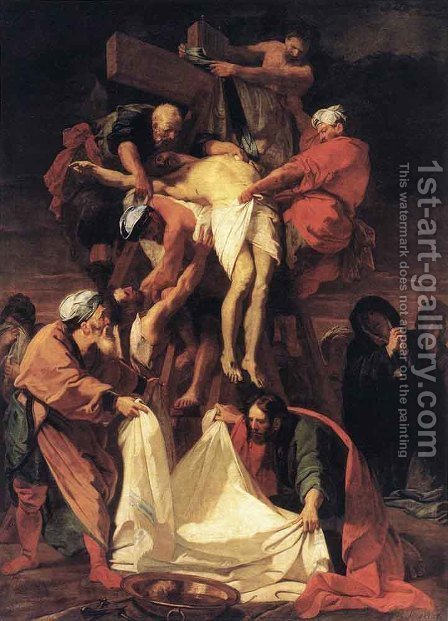 Jean-baptiste Jouvenet: Descent from the Cross - reproduction oil painting