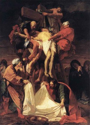 Jean-baptiste Jouvenet reproductions - Descent from the Cross
