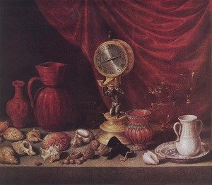 Reproduction oil paintings - Antonio de Pereda - Still-life with a Pendulum