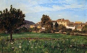 Famous paintings of Villages: Lourmarin
