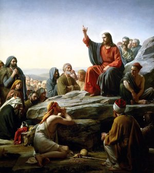 Famous paintings of Religion & Philosophy: The Sermon on the Mount