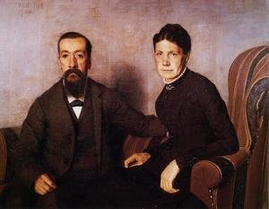 Famous paintings of Couples: The Artist's Parents