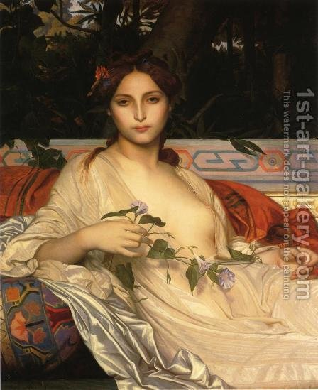 Albayde by Alexandre Cabanel - Reproduction Oil Painting