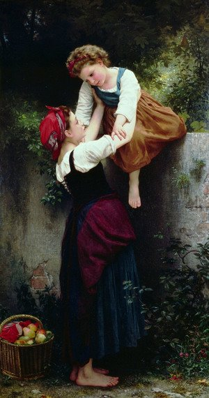 Famous paintings of Palisades: Petites Maraudeuses (Little Thieves)