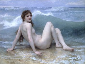 Famous paintings of Nautical: La Vague (The Wave)