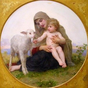 Image result for lamb in renaissance painting