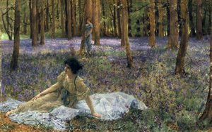 Reproduction oil paintings - Sir Lawrence Alma-Tadema - Bluebells