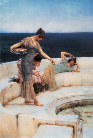 Famous paintings of Pools: Silver Favorites