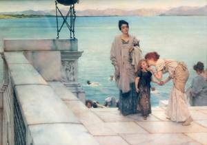 Reproduction oil paintings - Sir Lawrence Alma-Tadema - A Kiss