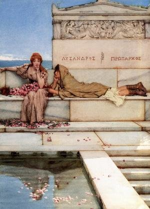 Famous paintings of Pools: Xanthe and Phaon
