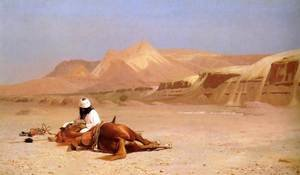 The Arab and his Steed (or In the Desert)