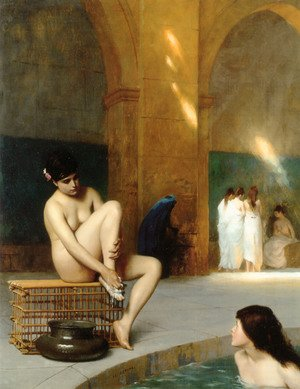 Reproduction oil paintings - Jean-Léon Gérôme - Femme nue (Nude Woman)