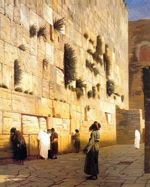 Solomon's Wall Jerusalem (or The Wailing Wall)