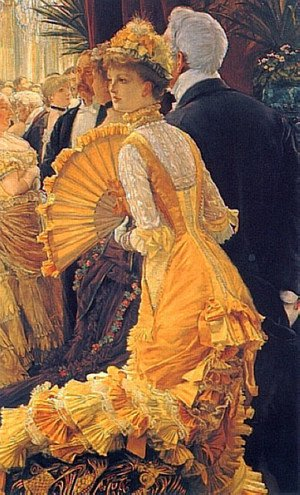 Reproduction oil paintings - James Jacques Joseph Tissot - The Ball