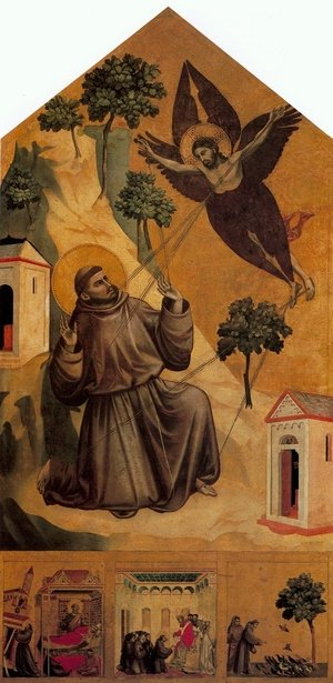 Reproduction oil paintings - Giotto Di Bondone - Stigmatization of St Francis