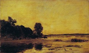 Reproduction oil paintings - Charles-Francois Daubigny - By the Sea