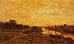 Reproduction oil paintings - Charles-Francois Daubigny - Daubigny_Charles_Francois