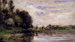 Charles-Francois Daubigny reproductions - Bords De L'oise