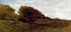 Reproduction oil paintings - Charles-Francois Daubigny - Les Graves De Villerville