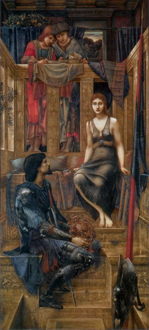Pre-Raphaelites painting reproductions: King Cophetua and the Beggar Maid
