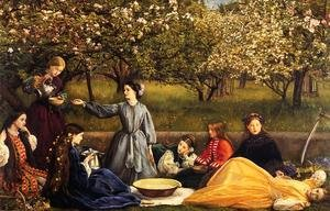 Reproduction oil paintings - Sir John Everett Millais - Apple Blossoms (Spring)