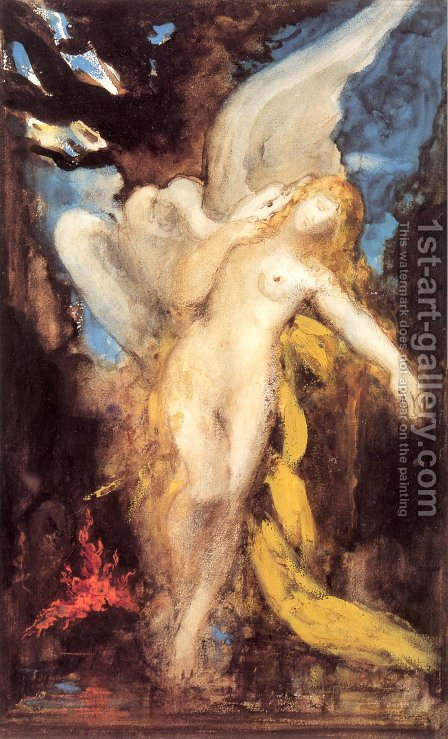 Leda by Gustave Moreau - Reproduction Oil Painting