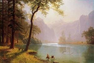 Reproduction oil paintings - Albert Bierstadt - Kern's River Valley, California