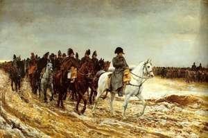 Famous paintings of Horses & Horse Riding: The French Campaign