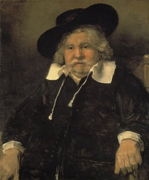 Reproduction oil paintings - Rembrandt - Portrait of an Elderly Man
