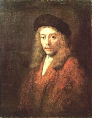 Reproduction oil paintings - Rembrandt - Portrait of a Young Man