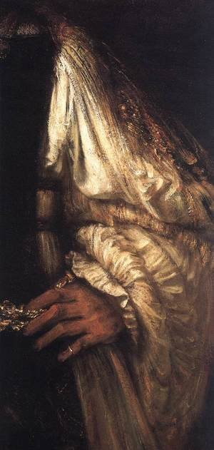 Reproduction oil paintings - Rembrandt - Aristotle with a Bust of Homer [detail: 1]