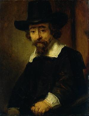 Reproduction oil paintings - Rembrandt - Dr Ephraim Bueno, Jewish Physician and Writer