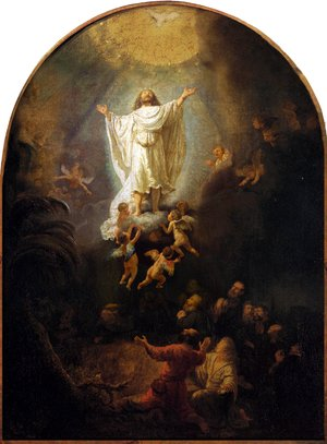 Reproduction oil paintings - Rembrandt - The Ascension Of Christ
