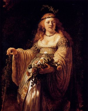 Reproduction oil paintings - Rembrandt - Flora