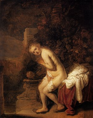 Reproduction oil paintings - Rembrandt - Susanna and the Elders