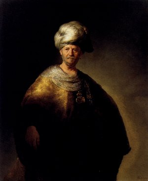 Reproduction oil paintings - Rembrandt - Man In Oriental Dress