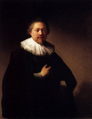 Reproduction oil paintings - Rembrandt - Portrait Of A Man