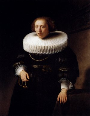 Reproduction oil paintings - Rembrandt - Portrait Of A Woman