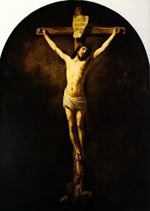 Reproduction oil paintings - Rembrandt - Christ On The Cross